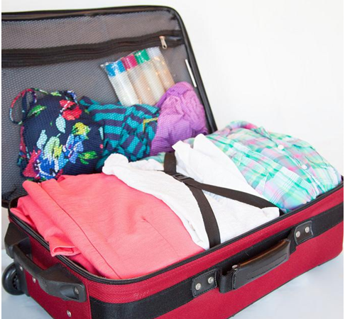How to pack your clothes so that they don't crease